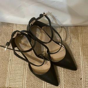 Aldo Point Toe Heels in Black